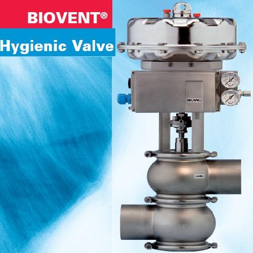 Hyienic Control Valve – BIOVENT