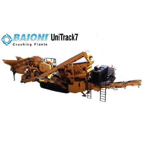 BAIONI – UniTrack7 Crushing Plants
